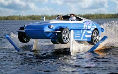 Rinspeed Splash on the water