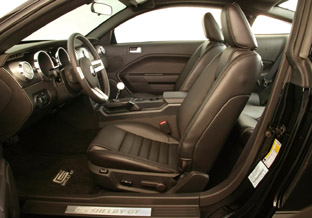 2007 Ford Shelby GT interior