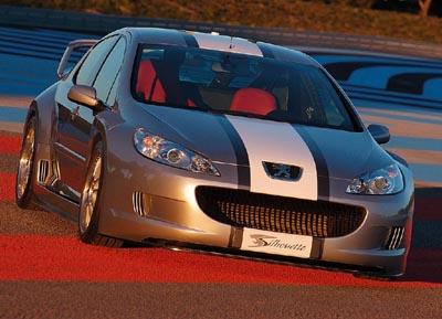 Peugeot 407 Silhouette Concept Cars Diseno Art