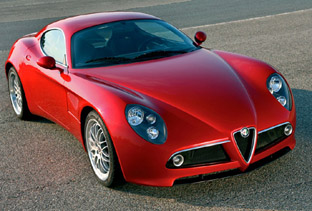 2008 Alfa Romeo 8c Competizione production version