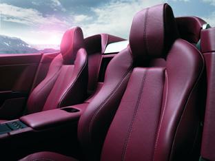 aston martin seats