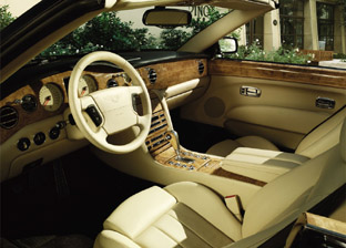 2006 Bentley Azure interior