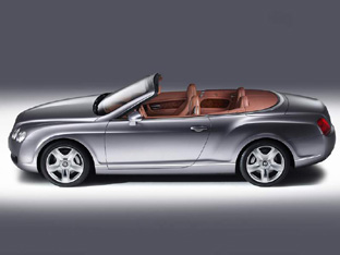 Elegant Bentley Continental GTC Convertible