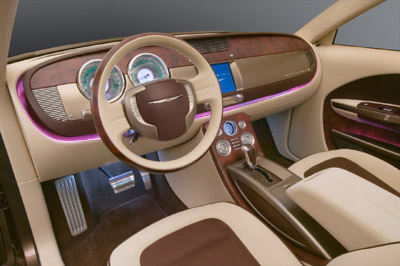 Chrysler Imperial concept interior