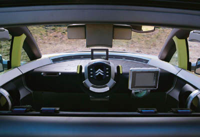 Citroen C-crosser interior