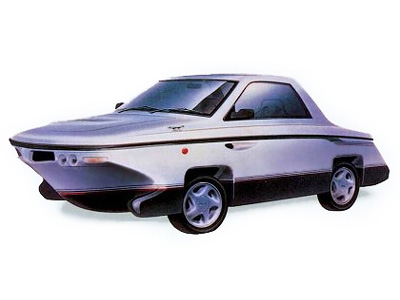 Acura Austin on Isuzu Nagisa Amphibious Car