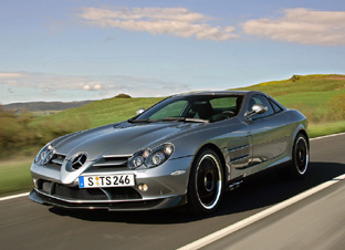 photo of LaDanian Tomlinson Mercedes-Benz SLR 722  - car