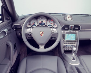 Porsche 911 Turbo Type 997 interior