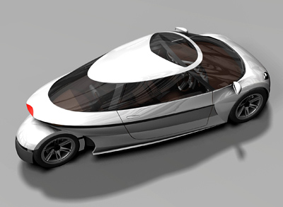 Cars gt michelin challenge design space efficient vehicle sev