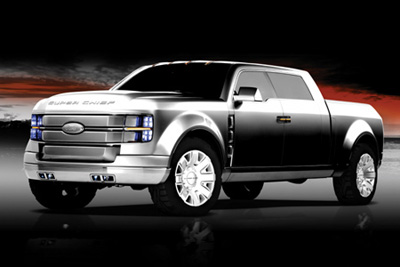 Ford F-250 Super Chief concept truck