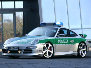 Techart Porsche 911 Police car