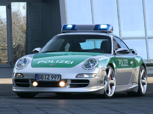Techart Porsche 911 Police car front