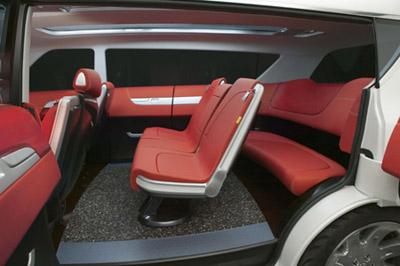 High Quality Toyota F3R Minivan Interior