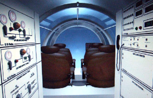 US SUBS Discovery 1000 interior