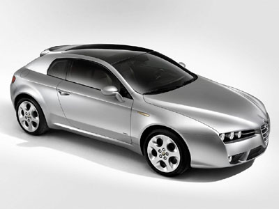 Alfa Romeo Concept Cars on Cars Alfa Romeo Brera Concept Car High Definition Wallpaper Hd