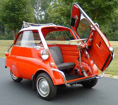 Isetta Microcar Strange Vehicles Diseno Art