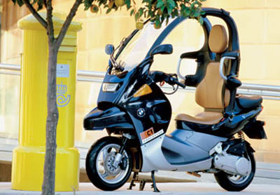 bmw c1 strange vehicles diseno art. Black Bedroom Furniture Sets. Home Design Ideas