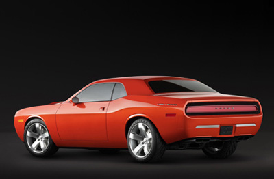 Dodge Challenger concept Rear View