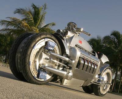 Dodge Tomahawk concept motorbike