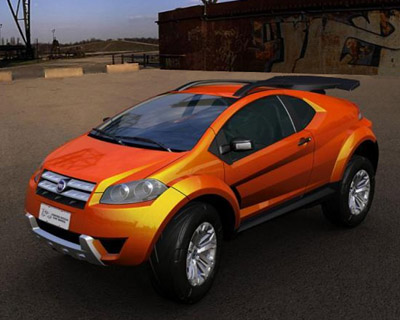 Fiat FCC Adventure crossover concept