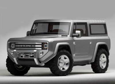 Ford Bronco - 1960's inspired SUV with modern technology