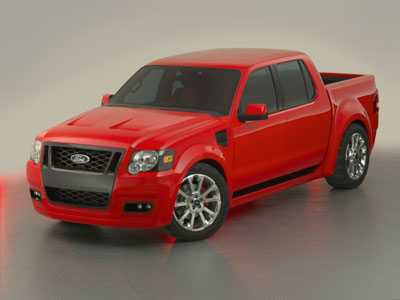 Ford on Make Ford Model Sport Trac Adrenaline Concept Year 2005 Production