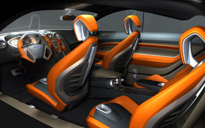 Ford iosis concept interior