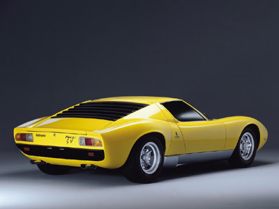 Lamborghini Miura Concept on The Lamborghini Miura Was Born At The 1965 Turin Motor Show Where A