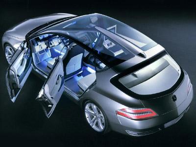 Mercedes Benz F500 Mind Concept Cars Diseno Art