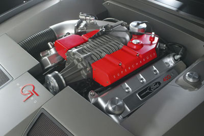Concept Ford Mustang Engine