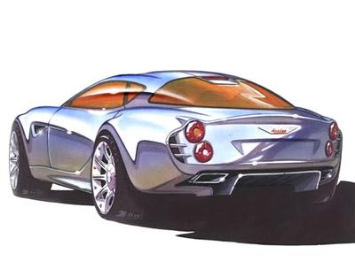 Healey 3000 Concept | Concept Cars | Diseno-Art