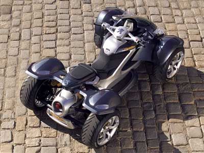Peugeot Quark quad bike concept
