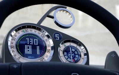 Renault Egeus clocks