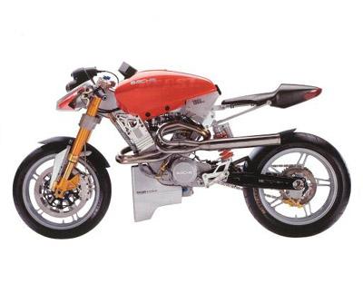 Sachs Beast concept motorbike bike