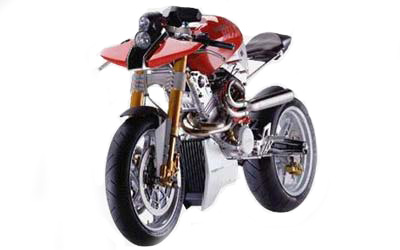 Sachs Beast concept motorbike