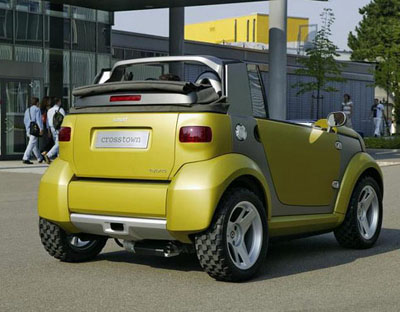 Smart Crosstown concept rear view