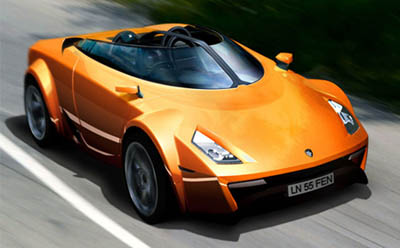 Fenomenon Stratos convertible concept