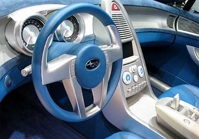 subaru steering concept and cover