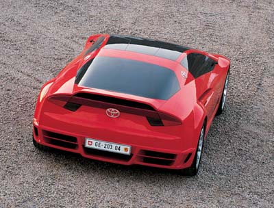 ITALDESIGN TOYOTA ALESSANDRO VOLTA rear view