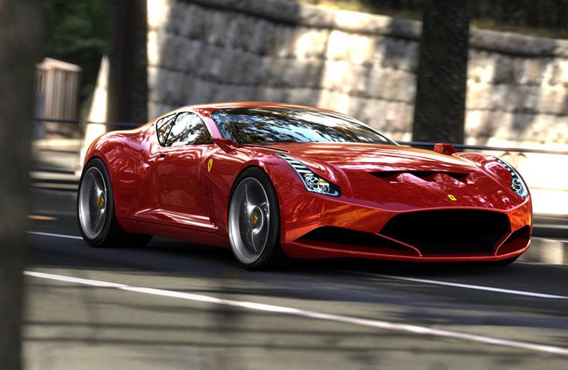 Concept Cars U003e Ferrari 612 GTO