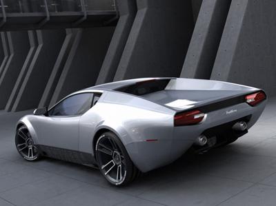 2007 De Tomaso Panthera Concept Rear