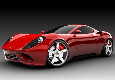2007 Ferrari Dino Concept Car