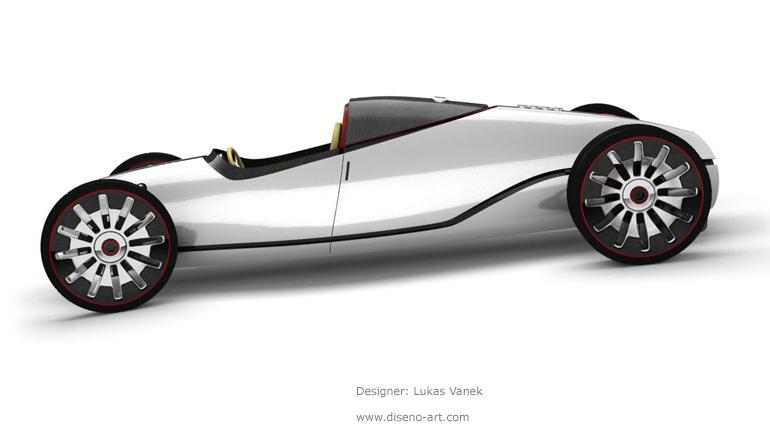 Audi Auto Union Type D Concept Cars Diseno Art