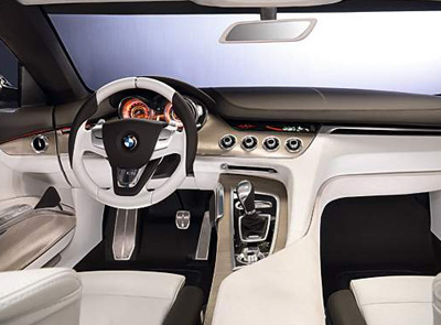 2008 BMW Concept CS interior