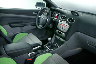 Ford focus rs mk2 sports cars for Interieur ford focus