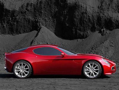 Alfa Romeo 8C Competizione Concept Side