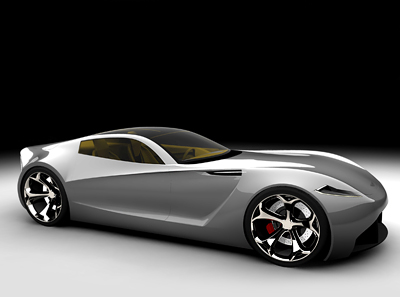 Aston Martin DB-ONE Concept car
