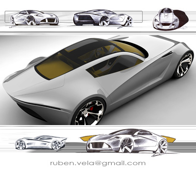 Aston Martin Db One Concept Cars Diseno Art