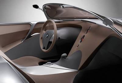 BMW GINA concept car interior