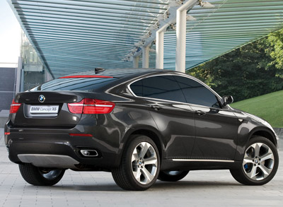 Sport   on Bmw X6 Concept Rear Jpg